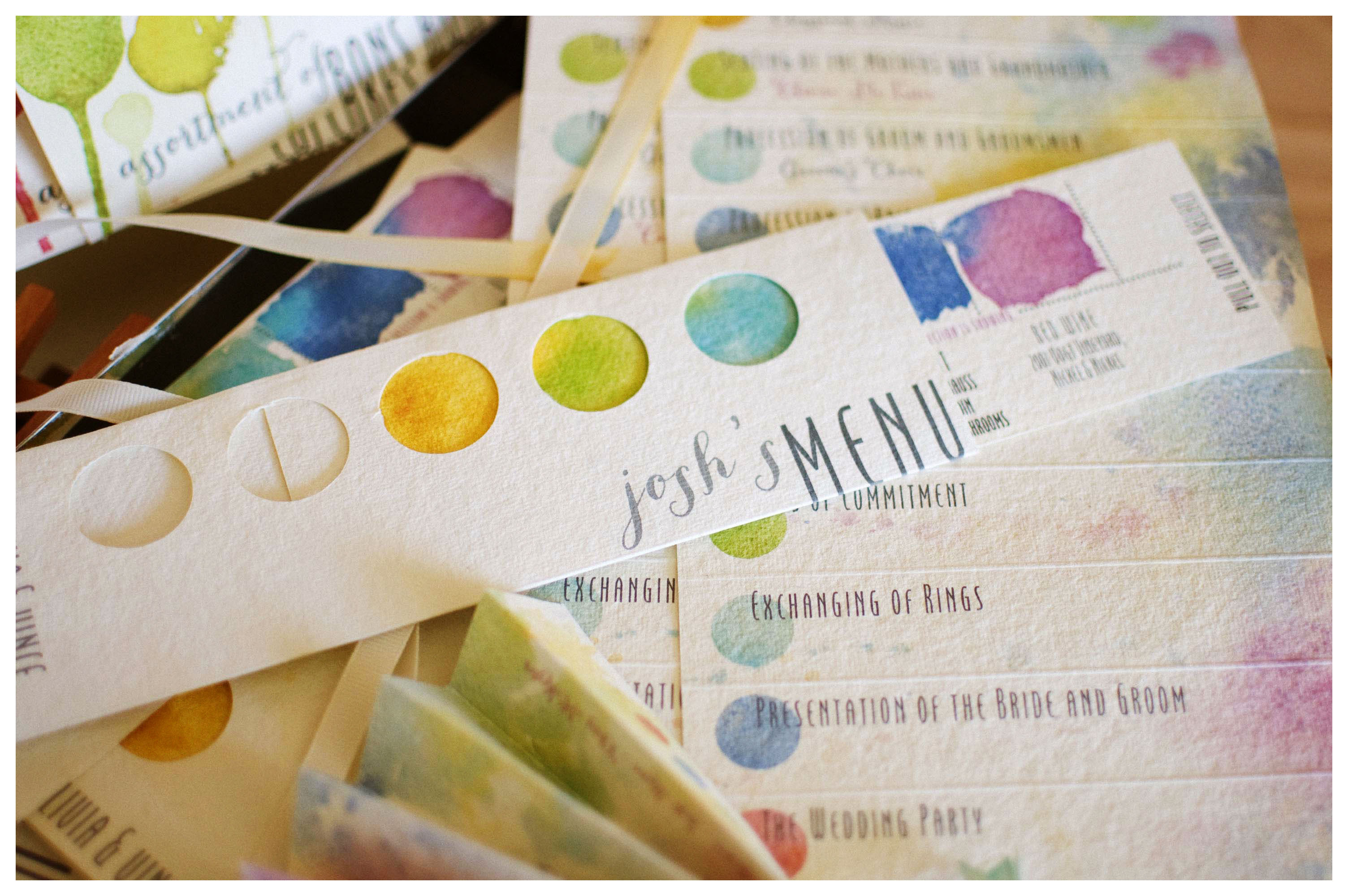 Colorful Watercolor Themed Wedding Ornament - The Wedding Ideas ...